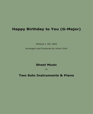 Happy Birthday to You  Trio G Major