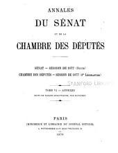 Annales du Sénat et de la Chambre des députés: Volume8