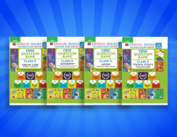 Oswaal CBSE Question Bank Class 11 (Set of 4 Books) English, History, Geography, Political Science (For 2021 Exams)