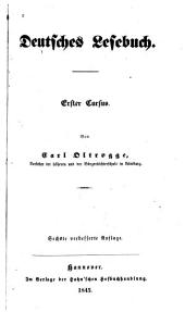 Deutsches Lesebuch: Band 1