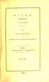 bills, public: six volumes