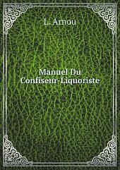 Manuel Du Confiseur-Liquoriste