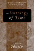 The Ontology of Time PDF