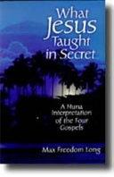 What Jesus Taught in Secret PDF