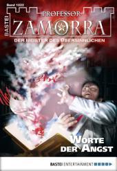 Professor Zamorra - Folge 1022: Worte der Angst