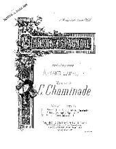 Chanson espagnole: edition pour baryton ou mezzo-soprano