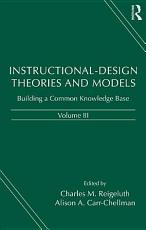 Instructional design Theories and Models  Building a common knowledge base PDF