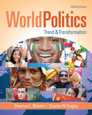 World Politics Trend And Transformation 2016 2017