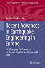Recent Advances in Earthquake Engineering in Europe PDF
