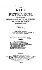 The Life of Petrarch: Volume 1