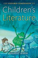 The Oxford Companion to Children s Literature PDF