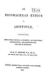 The Nicomachean Ethics...