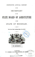 Annual Report of the Secretary of the State Board of Agriculture     and     Annual Report of the Experimental Station     PDF