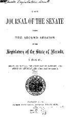 The Journal of the Senate     of the Legislature     PDF
