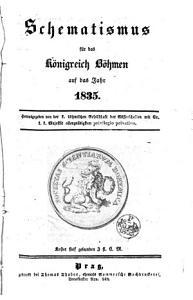 Schematismus des K  nigreichs B  hmen PDF