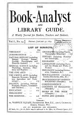 The Book-analyst and Library Guide