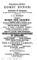 Comic songs   2nd coll    Duncombe s ed PDF