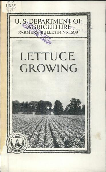 Download Lettuce Growing Book