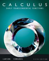 Calculus: Early Transcendental Functions: Edition 5