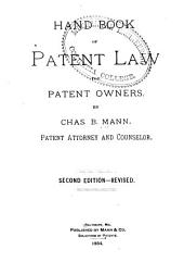 Handbook of Patent Law for Patent Owners
