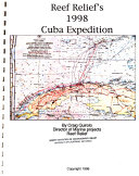 Reef Relief's 1998 Cuba Expedition