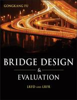Bridge Design and Evaluation PDF