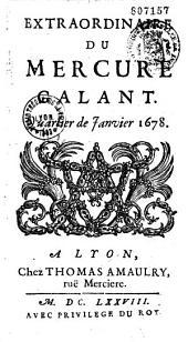 Extraordinaire du Mercure galant (manuel) [rédigé par Donneau de Vize]