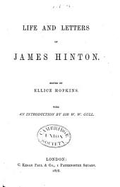 Life and Letters of James Hinton