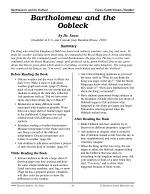 Dr. Seuss Literature Activities--Bartholomew and the Oobleck