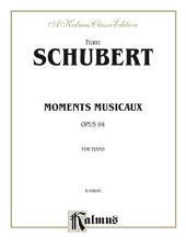 Moments musicaux, Opus 94: For Piano