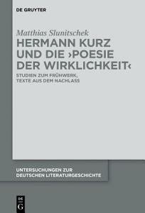 Hermann Kurz und die  Poesie der Wirklichkeit  PDF
