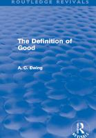 The Definition of Good  Routledge Revivals  PDF