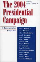 The 2004 Presidential Campaign PDF