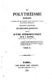Du polythéisme romain: Volume2