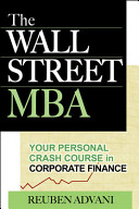 The Wall Street Mba Your Personal Crash Course In Corporate Finance