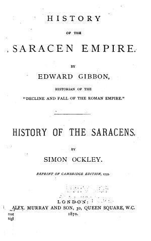 History of the Saracen Empire