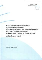 Explanatory Report on the Prot