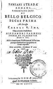 De Bello Belgico: Volume 1