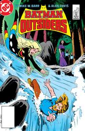 Batman and the Outsiders (1983-) #25