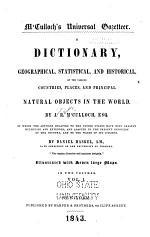 M'Culloch's Universal Gazetteer