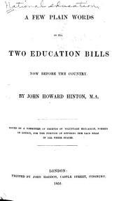 National Education: Volume 1