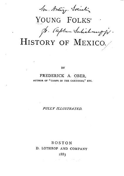 Young Folk s History of Mexico PDF