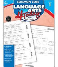 Common Core Language Arts 4 Today  Grade 1 PDF
