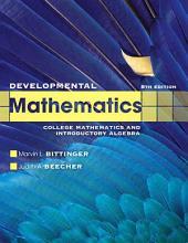 Developmental Mathematics: Edition 8