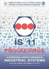 Proceedings of the XV International Scientific Conference on Industrial Systems  IS 11  PDF