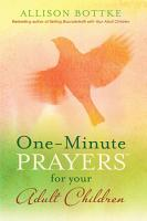 One Minute Prayers for Your Adult Children PDF