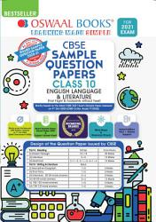 Oswaal CBSE Sample Question Paper Class 10 English Language   Literature Book  Reduced Syllabus for 2021 Exam  PDF