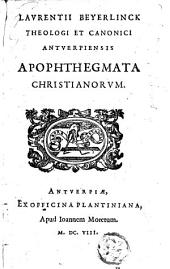 Apophthegmata Christianorum