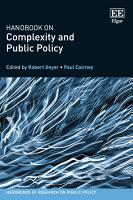 Handbook on Complexity and Public Policy PDF