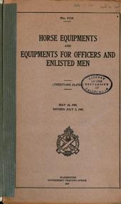 Horse Equipments and Equipments for Officers and Enlisted Men